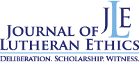 Journal of Lutheran Ethics Logo